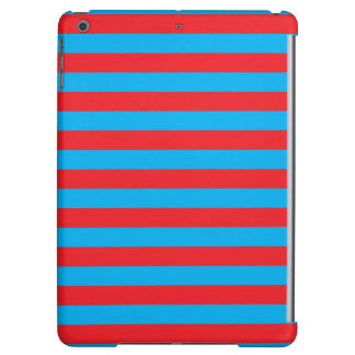 Blue and Red Horizontal Stripes