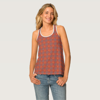 Blue and Red Multi-Print Tank