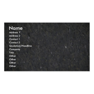 Blue and silver specked granite pack of standard business cards