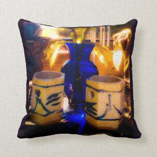 Blue and Sunlight Cushion