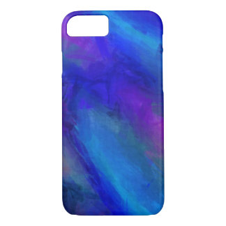 Blue and Violet Color Beauty iPhone 7 Case