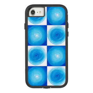 Blue And White Circles Pattern Case-Mate Tough Extreme iPhone 7 Case