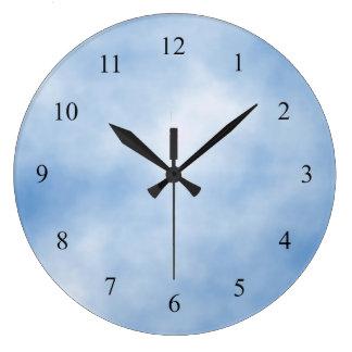 Blue kitchen wall clocks zazzlecomau for Blue kitchen wall clocks