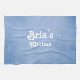 Blue and White Fancy Tea Towel