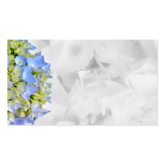 Blue and White Floral Blank Wedding Place Cards Pack Of Standard Business Cards