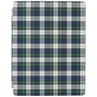 Blue and White Gordon Clan Formal Dress Tartan iPad Cover