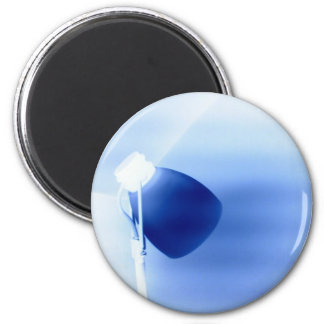 Blue and White Light Magnet