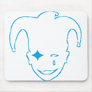 Blue and White MTJ Mouse Pad