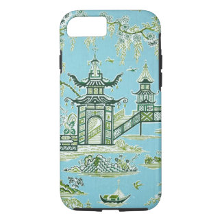 Blue and white oriental design iPhone 7 case