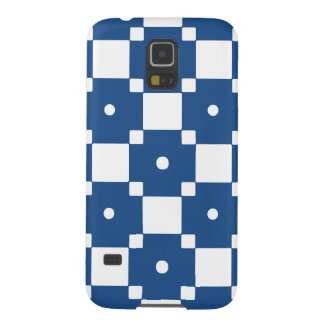Blue and white pattern samsung case cases for galaxy s5
