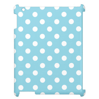 Blue and White Polka Dot Pattern Case For The iPad 2 3 4