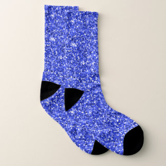 Blue and White Socks 1
