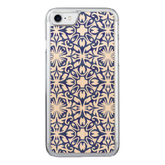 Blue and White Spanish Tile Mediterranean Carved iPhone 8/7 Case