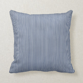 Blue and White Stripe Pillow
