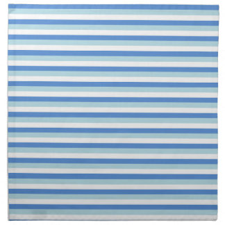 Blue and White Stripes Napkin