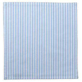 Blue and White Stripes Napkin