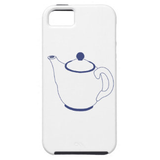 Blue and White Teapot iPhone 5/5S Case