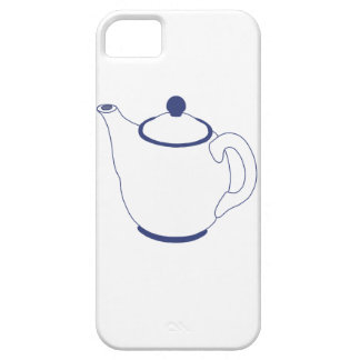 Blue and White Teapot iPhone 5 Cases
