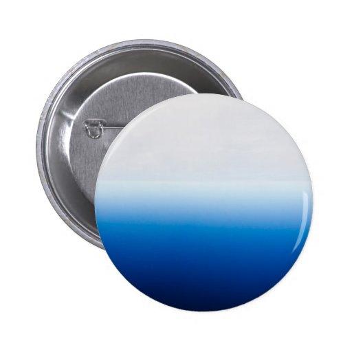 Blue and White Tye Dye Pinback Buttons