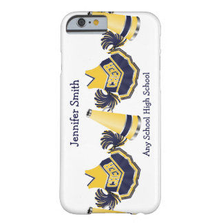 Blue and Yellow Cheerleading iPhone 6 case