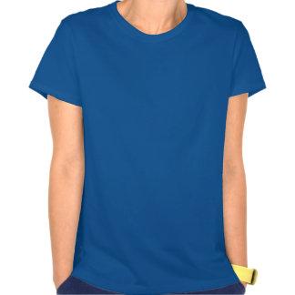 Blue and Yellow Fleur de lis T-shirt