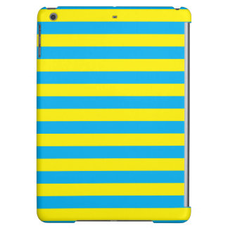 Blue and Yellow Horizontal Stripes