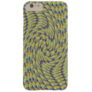 Blue and Yellow Swirl iPhone 6 Case Barely There iPhone 6 Plus Case
