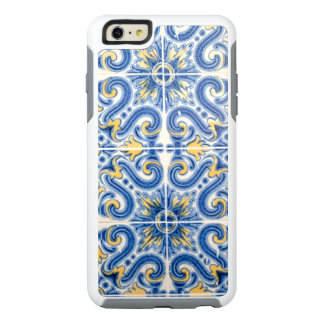 Blue and yellow tile, Portugal OtterBox iPhone 6/6s Plus Case