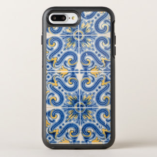 Blue and yellow tile, Portugal OtterBox Symmetry iPhone 7 Plus Case