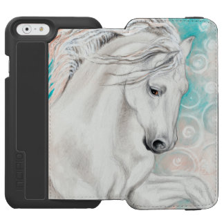 Blue Andalusian Horses Incipio Watson™ iPhone 6 Wallet Case