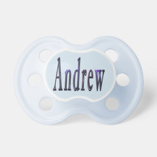 Blue Andrew Name Logo, Dummy