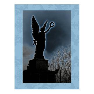 Blue Angel 4 Post Card