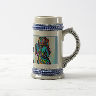 BLUE ANGEL BEER STEIN
