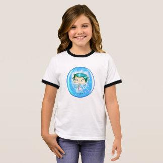 Blue Angel dressed and Ringer T-Shirt