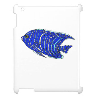 Blue Angel Fish Case For The iPad
