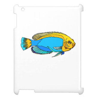 Blue Angel Fish Cover For The iPad 2 3 4