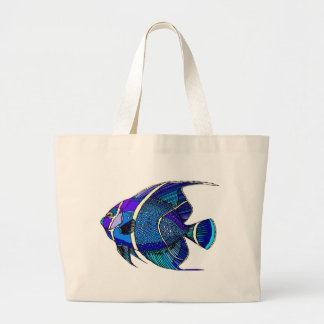 Blue Angel Large Tote Bag