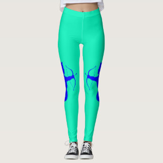 Blue Angel Turqouise Leggings