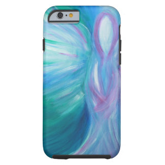 Blue Angel Whimsical Healing Art Tough iPhone 6 Case