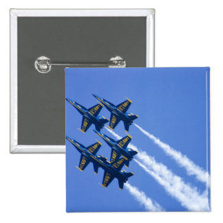 Blue Angels flyby during 2006 Fleet Week Button