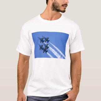Blue Angels flyby during 2006 Fleet Week T-Shirt
