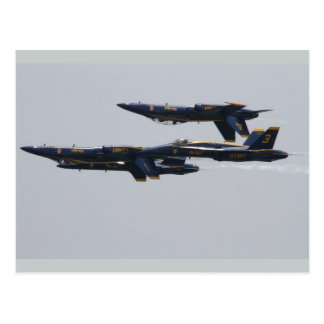 Blue Angels Flying Over Pensacola Beach, Florida Postcard