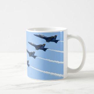 Blue Angels Line Abreast Loop Coffee Mug