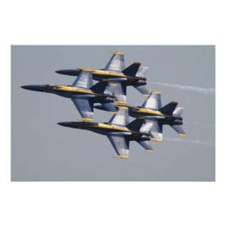 Blue Angels Pensacola Florida Poster
