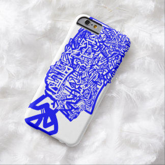 Blue Animal Mask Barely There iPhone 6 Case