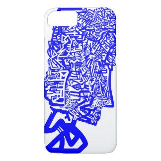 Blue Animal Mask iPhone 7 Case