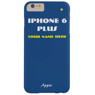 Blue Apple X Customize IPhone 6 case your name Barely There iPhone 6 Plus Case