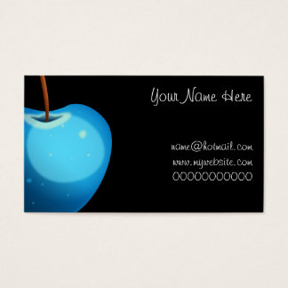 Blue Apple, Your Name Here, name@hotmail.comwww... Business Card
