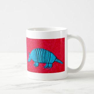 Blue Armadillo Coffee Mug