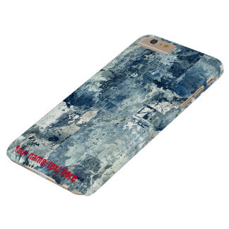 Blue Army Navy Air Force Camo iPhone 6 Plus Case